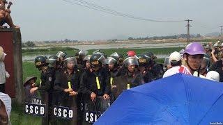 Biểu tình giữ đất ở Bắc Ninh