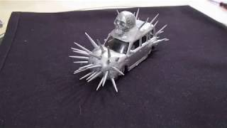 How to make a Mad Max car from a Hot Wheels car  . Crowd Control ....