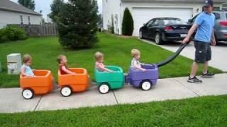 First choo choo ride