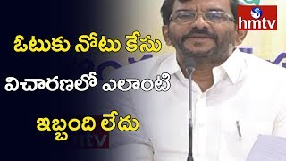Somireddy press meet on cash-for-vote case..