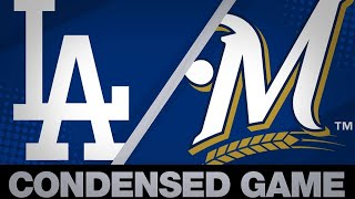 Condensed Game: LAD@MIL - 4/21/19