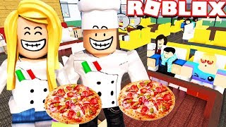 OTWIERAMY WŁOSKĄ RESTAURACJĘ W ROBLOX! (Roblox Restaurant