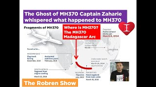 The MH370 Ghost of Captain Zaharie whispered WHERE, WHY & WHAT happened to MH370