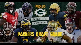 Packers 2019 Draft Grade