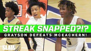 Grayson Snaps Sharife Cooper and McEachern's 39 Game Win Streak?!?