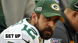Reacting to Aaron Rodgers opening up about the Packers drafting a QB | Get Up