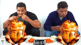 FULL GRILLED CHICKEN EATING CHALLENGE || HANG ON 1 || REAL FOOD CHALLENGE