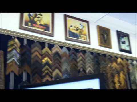 Decorative Custom Framing on Shooger TV