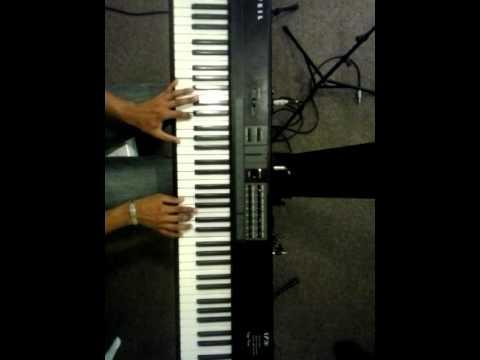 Baixar Eu vejo uma pequena nuvem-Toque no altar teclado