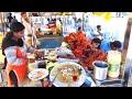 Vizag RK Beach Street Food   Indian Egg Omelette Toast   Indian Street Food