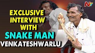 'Snake Man Venkateshwarlu' drinks snake venom..