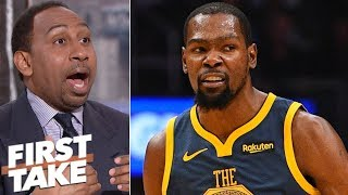 Stephen A. won't blame Draymond Green if Kevin Durant leaves Warriors | First Take
