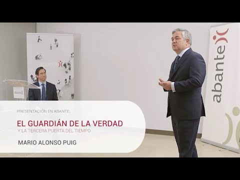 Mario Alonso Puig presenta su primera novela en Abante