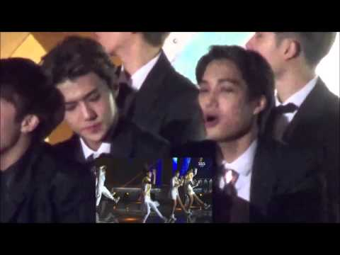 2014 EXO, Winner, Infinite & AOA reaction to 2Ne1 SBS gayo