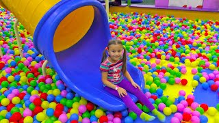 Indoor Playground for kids Family Fun   Play Area Compilation for Children