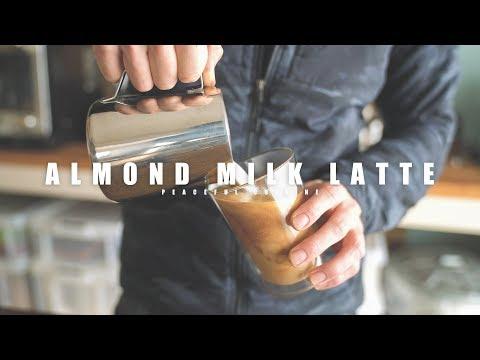 Best Almond Milk Latte I've Ever Made ☆ 美味しいアーモンドミルクラテの作り方