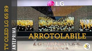 TV ARROTOLABILE LG OLED 4K 65R9 CES2019