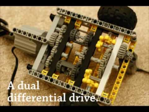 A Lego Power-Functions Car