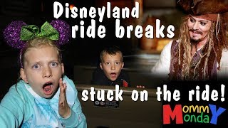 Stuck on a Scary Dark Ride!    Mommy Monday