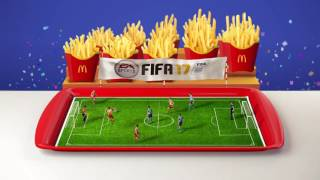 Now at McDonald's, everyone's a winner! #EyesOnTheFries