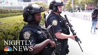 Exclusive: Lester Holt Inside NYPD's Critical Response Command | NBC Nightly News