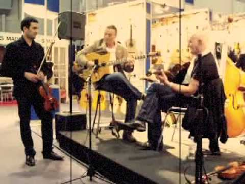 Jan Akkerman and Lulo Reinhardt Featured in Improvisational Jam at the Musikmesse!