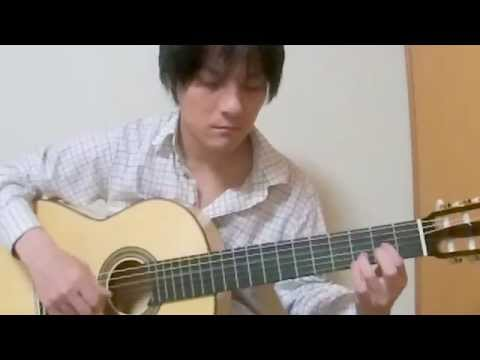 Let It go (Frozen) solo guitar cover chord tutorial アナと雪の女王 TANAKA YOSHINORI