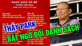 Thầy Park Bất Ngờ Thay Đổi Danh Sách ĐTQG Vào Phút Chót: Vắng 3 Trụ Cột, Tăng 1 Cầu Thủ Việt Kiều
