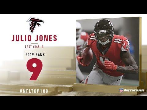 #9: Julio Jones (WR, Falcons) | Top 100 Players of 2019 | NFL