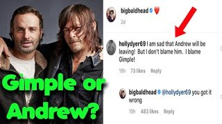 Norman Reedus Addresses Andrew Lincoln Leaving The Walking Dead