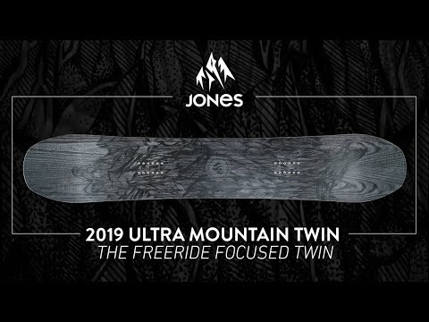 Jones Ultra Mountain Twin Snowboard 164 Wide