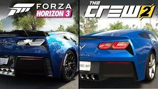 Forza Horizon 3 vs The Crew 2 | Direct Comparison