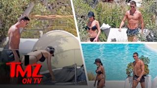 Cristiano Ronaldo's Girlfriend Georgina Rodriguez Busts Out Thong Bikini In Spain | TMZ TV