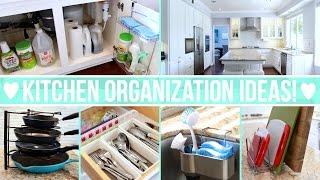 Kitchen Organization Ideas!