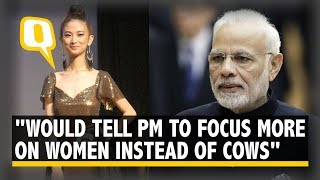 Model's Message to PM Modi: Focus More on Women, Not Cows..