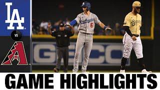Dodgers vs. D-backs Game Highlights (9/26/21) | MLB Highlights