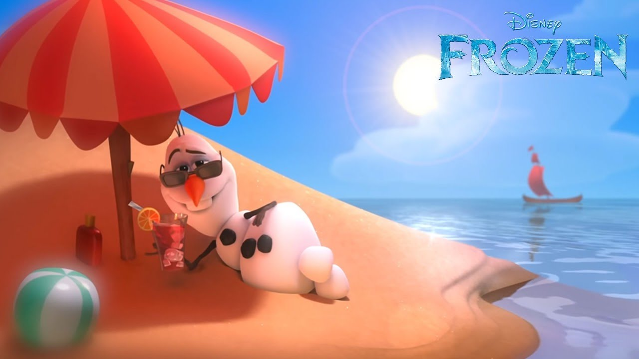 """Frozen """"In Summer"""" song -- Official 