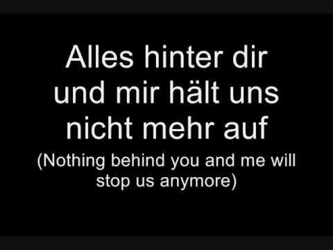 Tokio Hotel - Übers Ende der Welt (Lyrics w/ English Translation)
