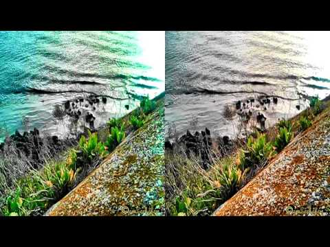 3d stereoscopic video Side by Side Emden Port outbound seaship THORCO ARVIAT