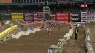 2012 AMA Supercross 450 Main Rd 12 Toronto