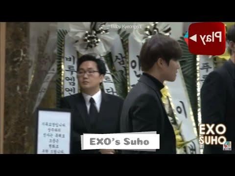 EXO , Wanna One , Minho at Shinee's Jonghyun Funeral