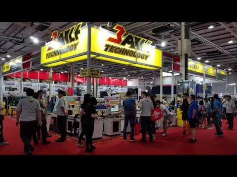 2019台北國際自動化工業展。台灣三軸科技公司
