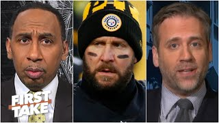 Max says Stephen A. is being very emotional about the Steelers' situation with Big Ben | First Take