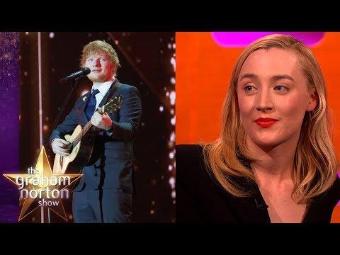 Ed Sheeran Tattoo'd Saoirse Ronan's Handwriting Onto Himself! | The Graham Norton Show