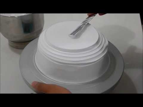 Clay Art Cream Cake Decoration Demo : Quenary Academy - Clay Art Cream Cake Decoration DEMO ...