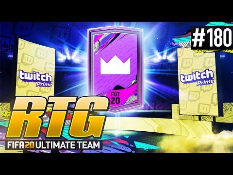 INSANE TWITCH PRIME FREE PACK! - #FIFA20 Road to Glory! #180! Ultimate Team