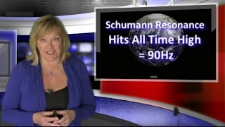 Earth's Frequency - Schumann Resonance -  Hits 90Hz