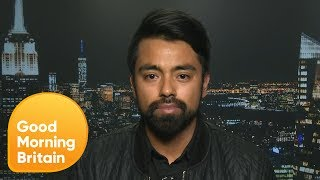 Southwest Airlines Surviver On His Viral Livestream Video | Good Morning Britain