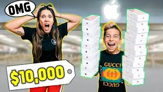 ANYTHING My SON Can CARRY, I'll BUY It Challenge! | The Royalty Family