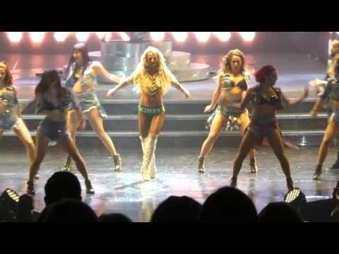 Britney Spears - MATM, I love Rock n' Roll, Gimme More - Las Vegas 8 April 2016